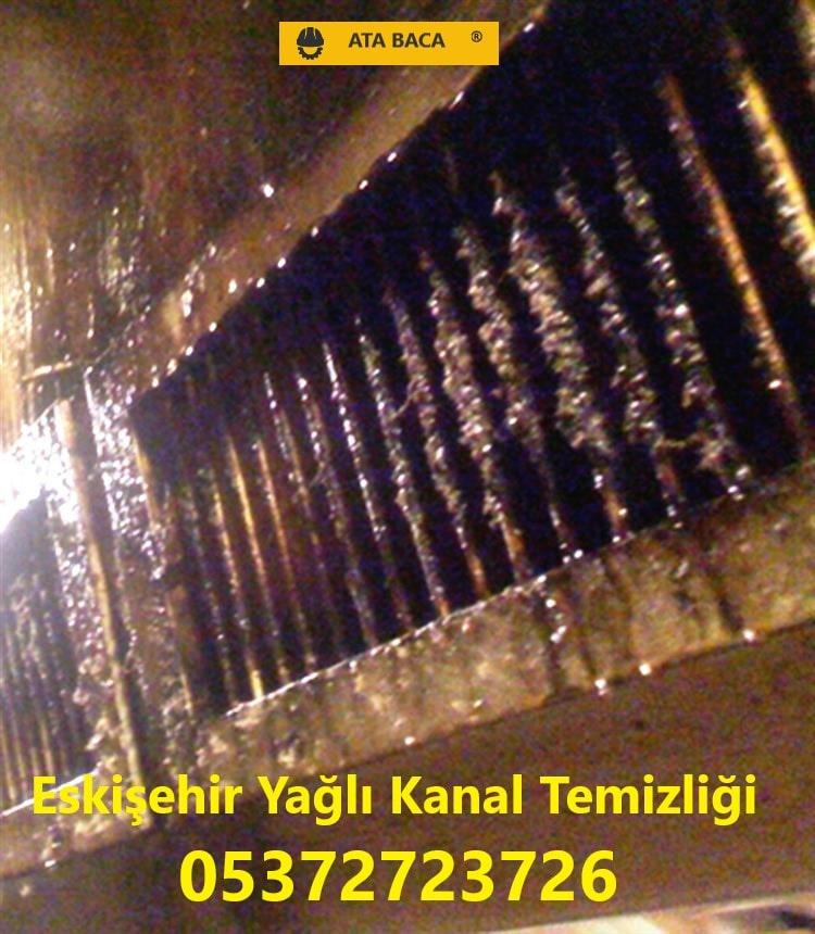 Eskişehir Yağlı Kanal Temizliği