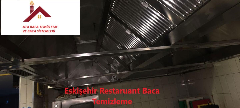 Eskişehir Restaurant Baca Temizleme